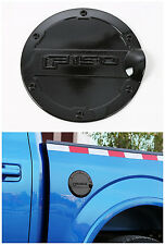 1pcs  Fuel Filler Cover Gas Tank Cap cover trim for Ford F150 2015 2016 Black