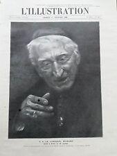 L' ILLUSTRATION 1908 N 3388 S.E. LE CARDINAL RICHARD, MORT A PARIS LE 28 JANVIER
