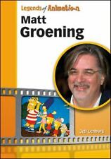 Matt Groening: From Spitballs to Springfield (Legends of Animation)-ExLibrary