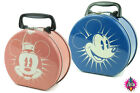 NEW DISNEY MICKEY OR MINNIE MOUSE TOTE TIN SCHOOL LUNCH BOX CASE