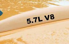 5.7L V8 hood scoop decal decals for any Rumble bee KIT Vinyl Decal Sticker