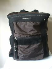 MANDARINA DUCK - Taupe & Black Back Pack with Suede Leather Trim *Hardly Used*