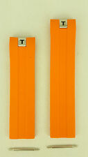 Tissot Tony Parker PRS 330 Watchband Orange Rubber Strap T076417A / TP12 - TP 12
