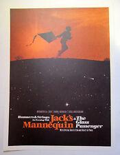 Jack's Mannequin *Sokol Underground Omaha NE 2008* Tour Poster Andrew McMahon