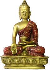 Buddha Nepali Style in Wish Giving Pose Desktop Statue 5.5H O-090GR