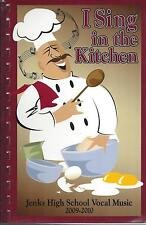 *JENKS OK 2009 HIGH SCHOOL COOK BOOK *I SING IN THE KITCHEN *OKLAHOMA RECIPES