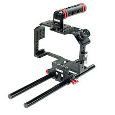 HOT SALE! Filmcity Camera Cage wid Handle for SONY A7 A7r A7s gh3 gh4 Video DSLR