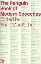 The Penguin Book of Modern Speeches, , Good Condition, Book
