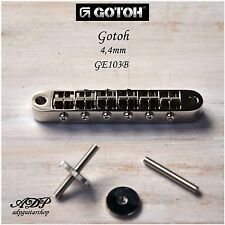 CHEVALET GOTOH GE103B Tune-O-Matic ABR-1 style M4 Post +Thumbwheel GIBSON Bridge