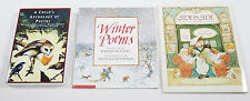 3 ~ Children Young Adult POEM POETRY Books Paperback Scholastic