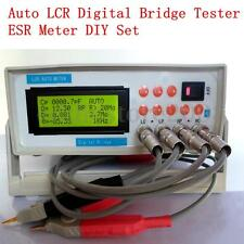 Auto LCR Digital Electric Bridge Resistance Capacitance Inductance ESR Meter DIY