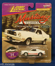 77 1977 COBRA II ll ☆ 1997 Johnny Lightning Mustang Classics Red Stripes