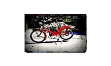 1968 raleigh runabout Bike Motorcycle A4 Retro Metal Sign Aluminium