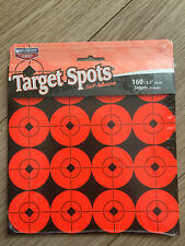 Target Spots By Birchwood casey. Self adhesive targets 1.5 INCH PACK OF 10 SHEET
