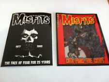 THE MISFITS 2-Pack of Stickers Face Of Fear & Cartoon Crypt NEW OFFICIAL Danzig