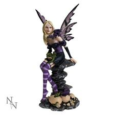 Nemesis Now Fairy and Dragon figurine Amethyst and Hatchlings