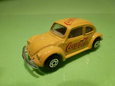 EDOCAR  -  COCA COLA    VOLKSWAGEN BEETLE  - RARE SELTEN - IN GOOD CONDITION
