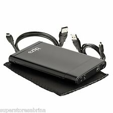 "250GB External Portable 2.5"" USB Hard Drive for Mac Windows + One Touch Backup"
