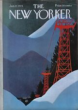 THE NEW YORKER MAGAZINE JANUARY 27 1975 OFF BROADWAY ROBERT ERSKINE CHILDERS