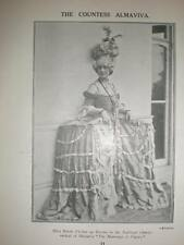 Photo UK Opera Sarah Fischer Countess Almaviva 1923