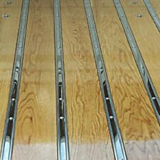 Polished Stainless Bed Strips Chevy 1973 - 1987 Chevrolet Short Stepside Truck