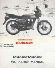 Honda MBX80F (1983-on) Factory Shop Repair Manual MBX80 MBX 50 80 F FW FWD MBX50
