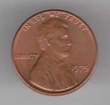 United States 1975 Cent Bronze Coin - Abraham Lincoln Memorial