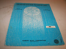 God Is Ever Beside Me Florence Tarr & Peter De Rose Sheet Music 1944
