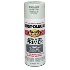 Rust-Oleum Stops Rust White Clean Metal Spray Primer (Pack of 2)