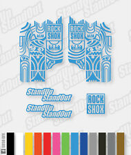 RockShox Totem Decals / Stickers - Single Colour - 12+ Custom Colours Available
