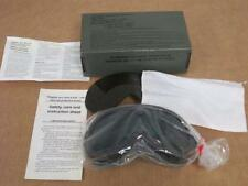 American Optical  Vintage Military Goggles, Sun ,Wind & Dust; Green & Brown Lens