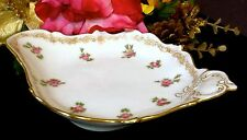 LIMOGES T&V DEPOSE TOURAINE FRANCE 22K Gold Trinket Candy Relish Dish  100 Yrs