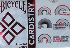 Bicycle Cardistry Red Foil Playing Cards - Limited Edition - 1st Run - SEALED