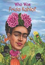 Who Was Frida Kahlo?-ExLibrary