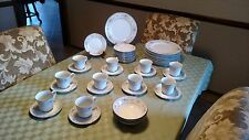 "Antique - Fine China Company Porcelin dinnerware set ""Diane"" pattern - Made in J"