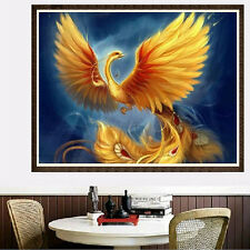 5D DIY Phoenix Diamond Painting Cross Stitch Embroidery Home Decoration