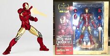 Legacy of Revoltech LR-040 Iron Man Mark VI Figure Kaiyodo Marvel Licensed New