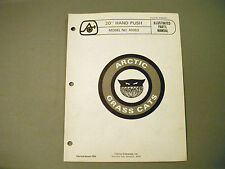 "Vintage Arctic Cat Grass Cat 20"" Hand Push A1083 Parts Manual"