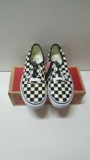 Vans Authentic Golden Coast Checkerboard size 8  limited black white