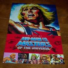 """HE-MAN MASTERS OF THE UNIVERSE PROMO POSTER NEW 11"""" X 17"""" MOTU Nintendo Link"""
