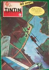 """JOURNAL TINTIN n° 552   """"Le journal des jeunes de 7 à 77 ans Années 1959 / 1960"""""""
