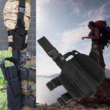 Military Airsoft Tactical Pistol Drop Leg Thigh Gun Holster Bag Pouch