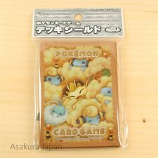 Pokemon Center Card Game Sleeve Mofu Mofu 32 sleeves Japanese Mareep Meowth