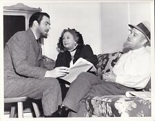 WALTER PIDGEON DAME MAY WHITTY Original CANDID Vintage MADAME CURIE MGM DW Photo