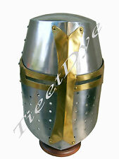 Sugar Loaf Helmet Ancient Armor Armour Medieval Knight Sugar +Free Helmet Stand