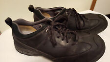 Caterpillar Men's Low Steel Toe Lace Up Leather Work Shoes Waterproof Black 13 M