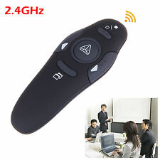 2.4GHz Wireless USB PowerPoint PPT Presenter Remote Control Laser RF Pointer Pen