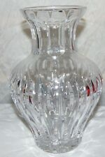 MARQUIS by WATERFORD Sheridan Large Cut Crystal Amphora Vase 10""