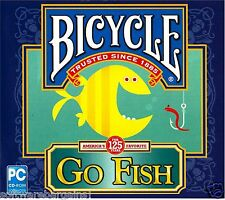 BICYCLE GO FISH BRAND NEW SOFTWARE.FUN FOR ALL AGES! SHIPS FAST and SHIPS FREE!