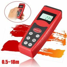 Digital Ultrasonic Measure Distance Meter Measurer Laser Pointer Range Finder